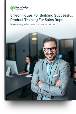 Sales Rep Product Training