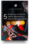 Free guide for Training Managers