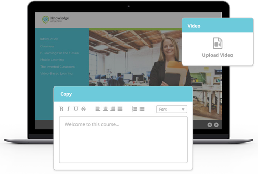 Knowledge Anywhere Course Builder